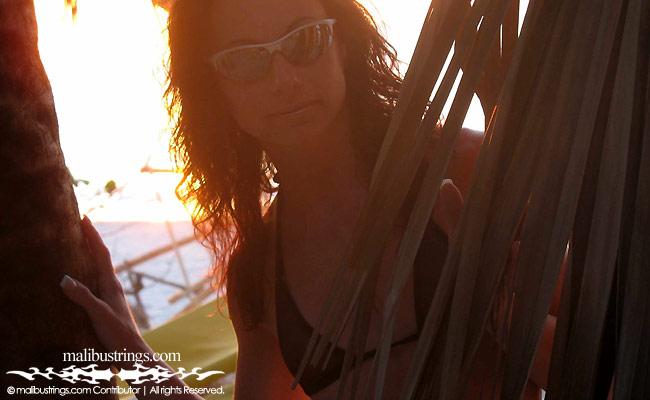 Bikini malibu strings competition