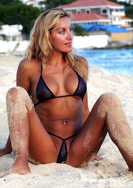 malibu bikini Michele strings