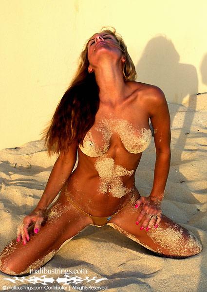 nude kimmy Malibu strings