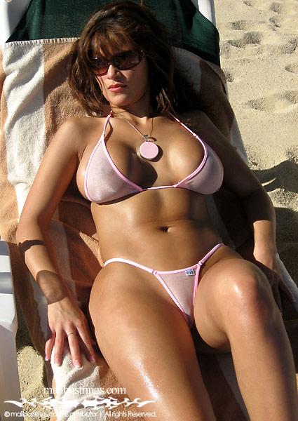 Remarkable, Sheer bikini comp