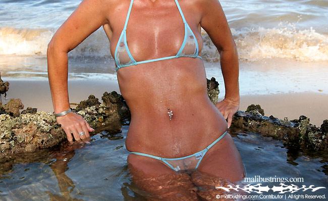 Sue ellen aussie bikini model