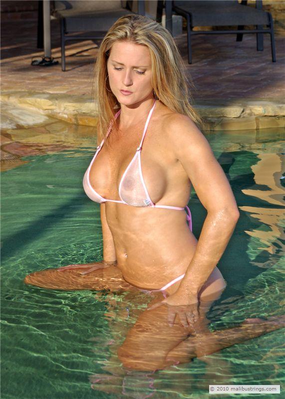 Really. Sheer bikini comp