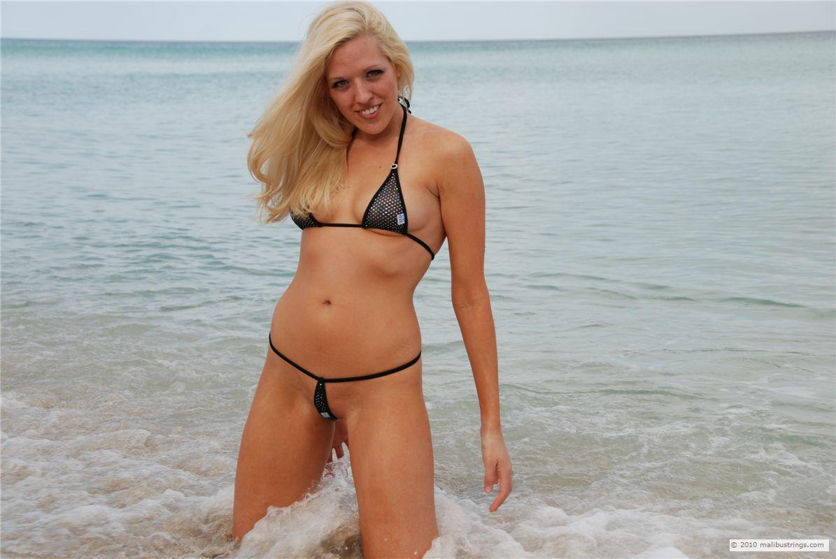 Nees bikini contest malibu string those are