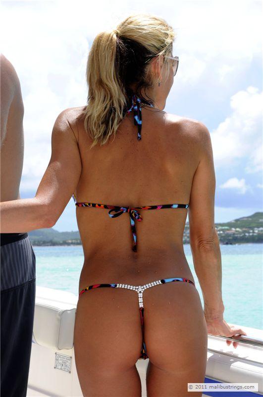 Mom string bikini