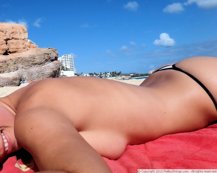 Malibu string bikini competition