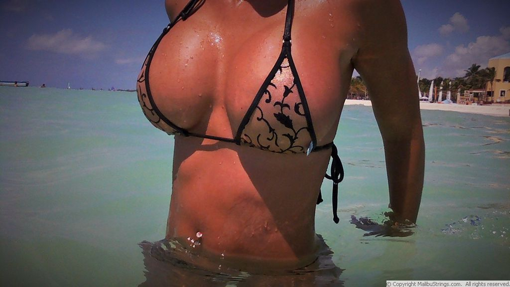 String bikinis in puerto morelos