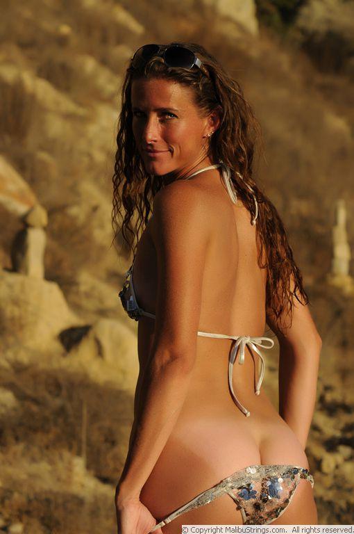 Malibu Strings Swimsuits Car Tuning
