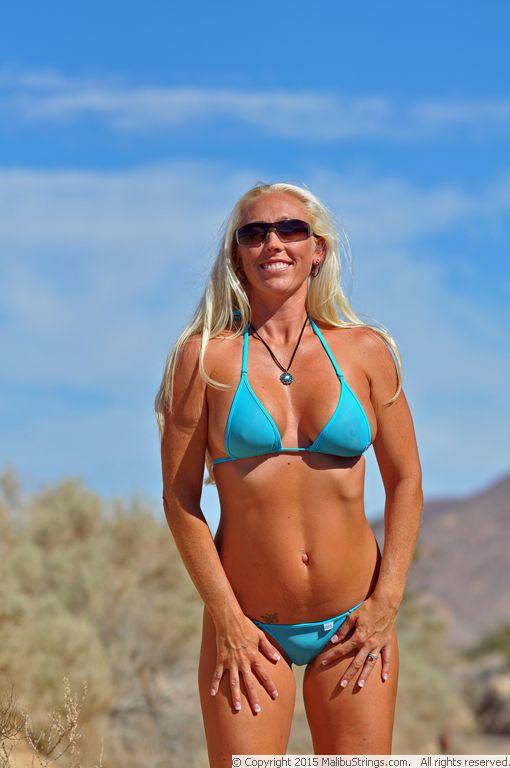Aimee in blue panties 5