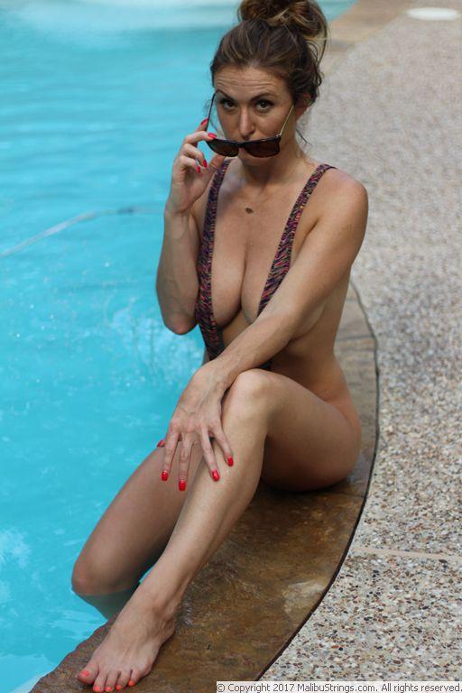 Creamlin Teeny Weeny Sling Shot Micro Mini Bikini Thong