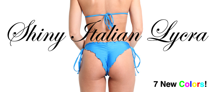 New Shiny Italian Lycra