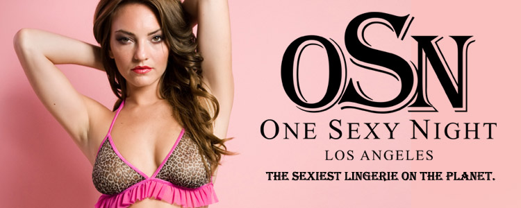 One Sexy Night - The Sexiest Lingerie on the Planet.