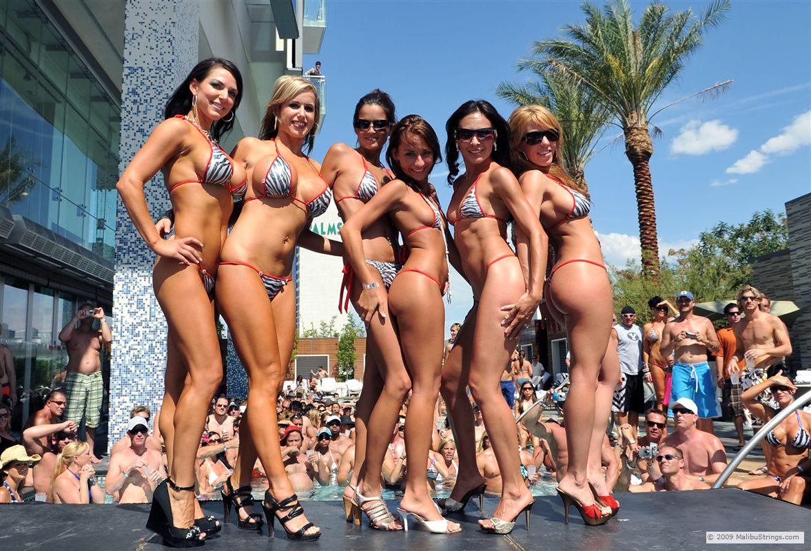 Mandy Rose Enjoying Her Holidays In A Nude Bikini