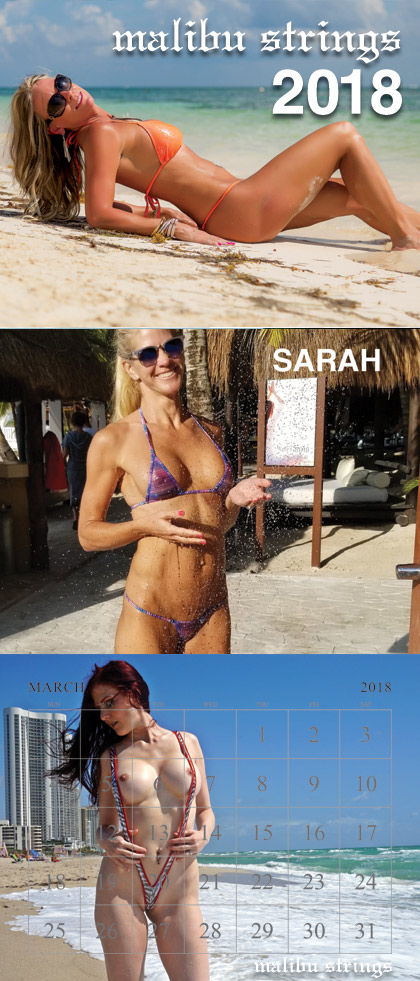 Malibu Strings Calendar 2021 Background