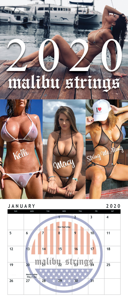 Malibu Strings Calendar 2021 Wallpaper