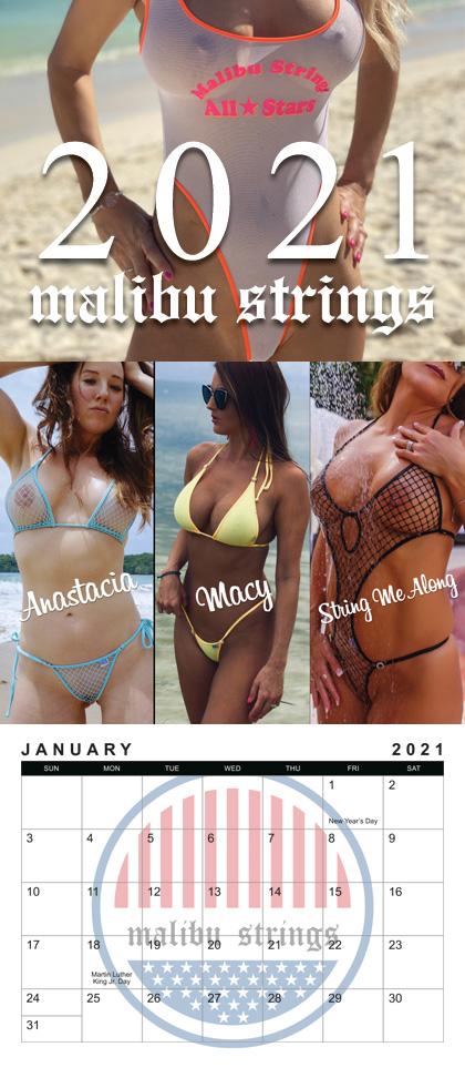 Malibu Strings Calendar 2021