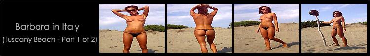 bikini video 3 - Barbara in Italy
